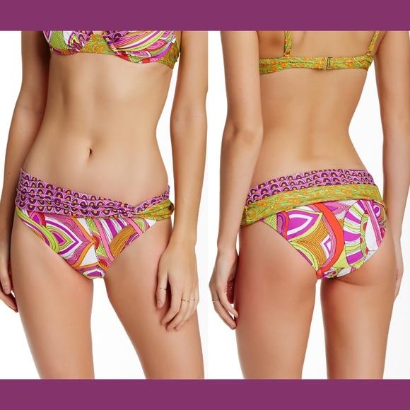 Trina Turk Other - NEW! Trina Turk Amazonia Shash Hipster Bottom 8 10